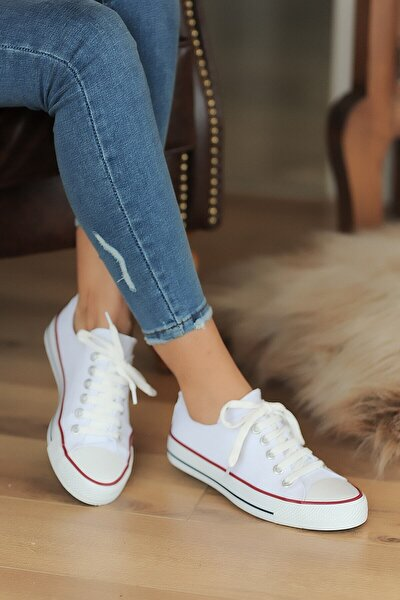 Beyaz Kadın Casual Ayakkabı A3232-20