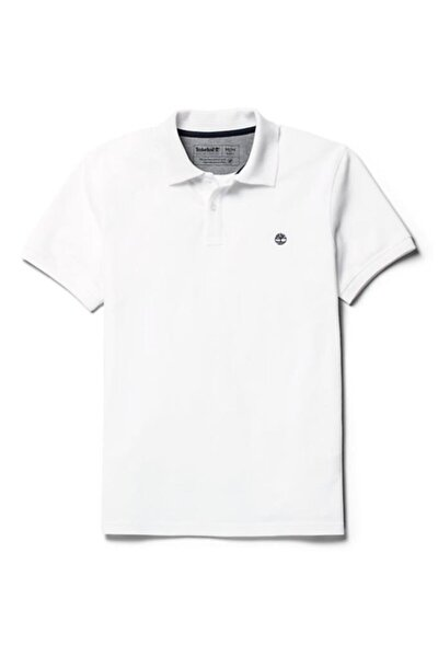 Ss Mr Polo Slim Erkek T-shirt Beyaz