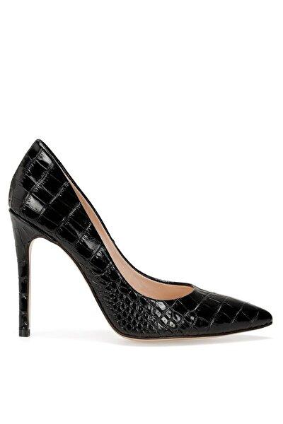 TULIPA2 Siyah Kadın Hakiki Deri Topuklu Ayakkabı 100483198