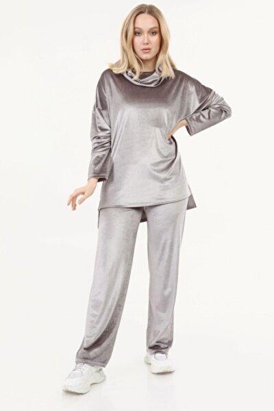 Kadın Vizon Degaje Model Takım
