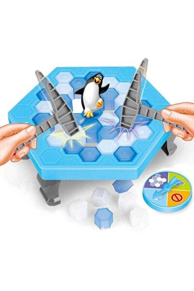 Penguen Düşürme Oyunu Buz Tuzağı Oyunu Buz Kırma Çocuk Zeka Ve Strateji Oyunu