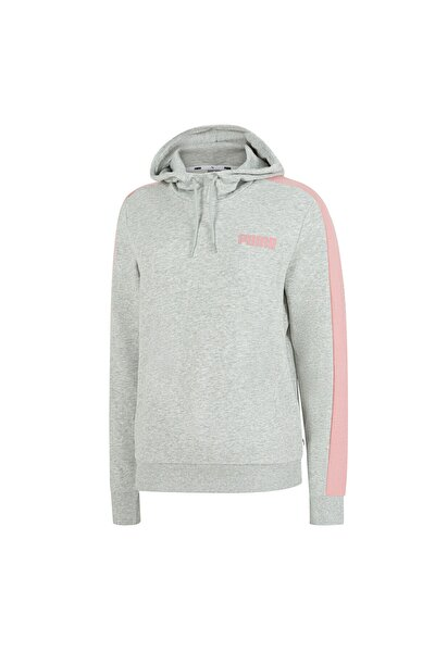 Contrast Kapüşonlu Kadın Sweatshirt