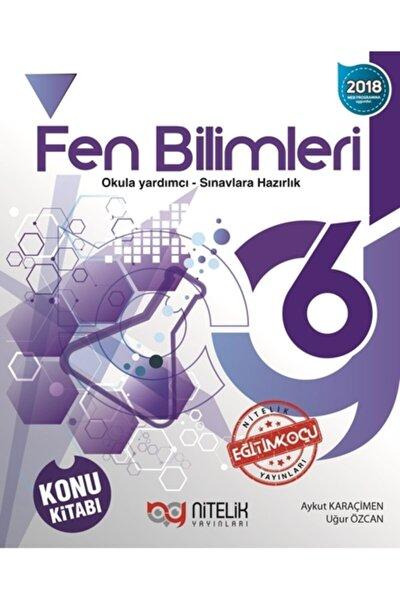 Nitelik 6.sınıf Fen Bilimleri Konu Kitabı