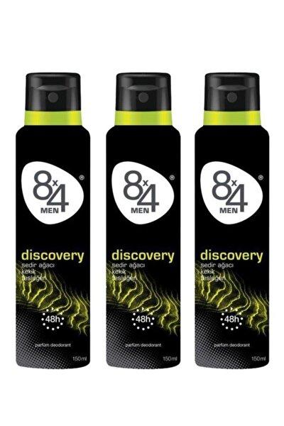 Discovery Deo Sprey Erkek 150 ml X 3 Adet