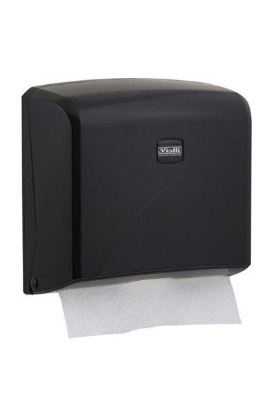 Z Katlı Kağıt Havlu Dispenseri Max 22 Cm 200 Adet Siyah K2b