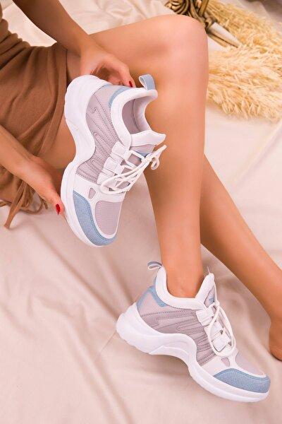 Kadın Mavi Buz Sneaker