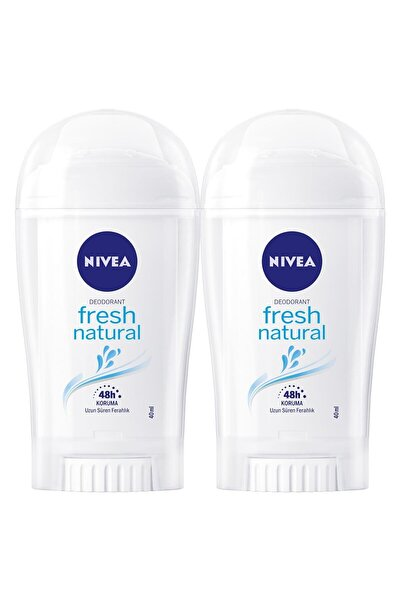 Fresh Natural Kadın Deodorant Stick 40 ml  2'Li