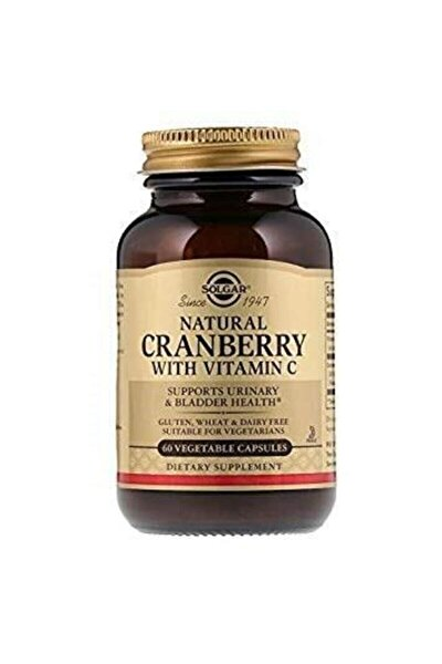 Cranberry Extract With Vitamin C 60 Kapsül