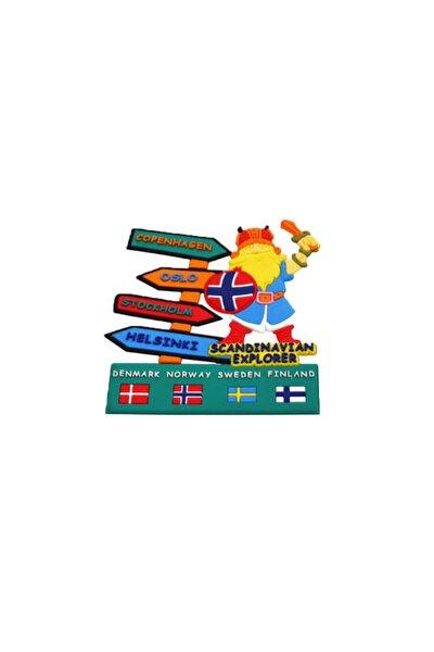 Buzdolabı Magneti Avrupa Şehirleri Iskandinavya