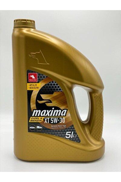Maxima Xt 5w30 Motor Yağı 5 Litre 2020 Üretim