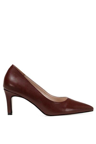 GENTI Bordo Kadın Topuklu Ayakkabı 100555900