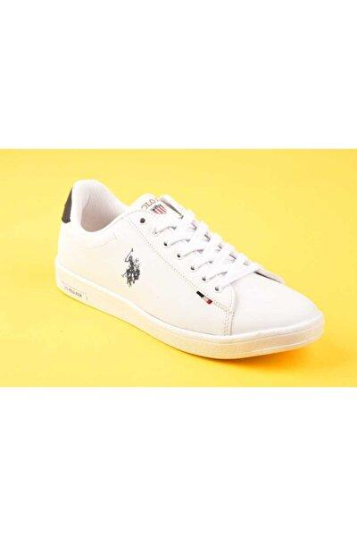 Uspolo Kadın Beyaz Sneaker Spor Ayakkabı 100548974-20k