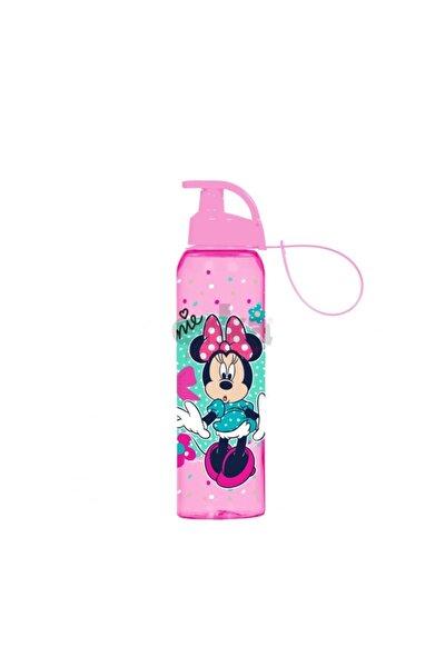 Minnie Mouse 500 Ml Pembe Lisanslı Matara Askılı