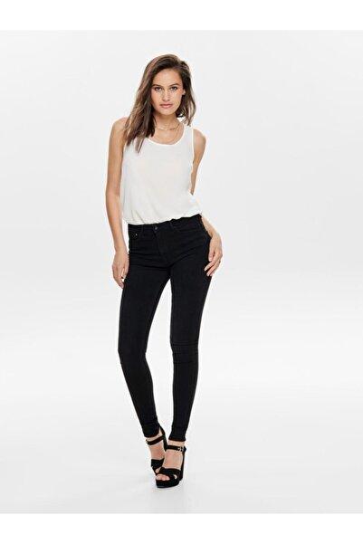Kadın Siyah  Jean Pantolon