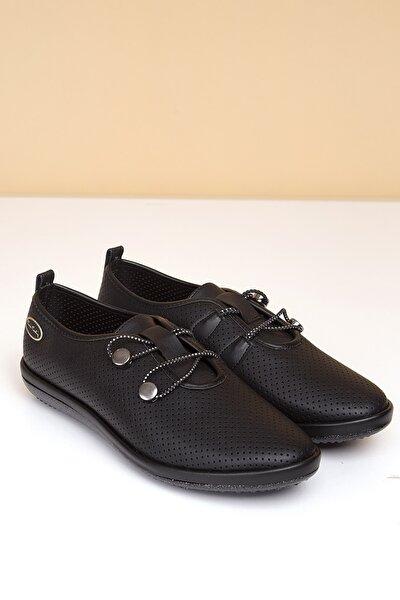 PC-50093 Siyah Kadın Ayakkabı