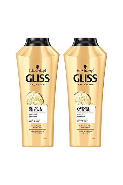 Ultimate Oil Elixir Besleyici Şampuan 360 ML 2'li