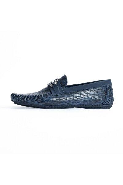 Laci Kroko Toka Detaylı Loafer Ayakkabı