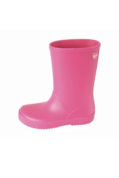 W10106 Splash-007 Fuşya Kız Çocuk Yağmur Çizmesi 100386341