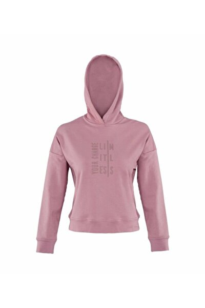 MARTA SLOGAN SWEATSHIRT Pembe Kadın Sweatshirt 100559795