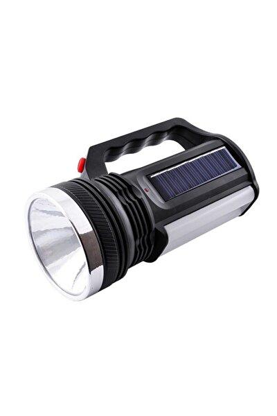 At-999 Güneş Enerjili Şarjlı Aydınlatma Cihazı 1w+16 Led Çift Yönlü El Feneri