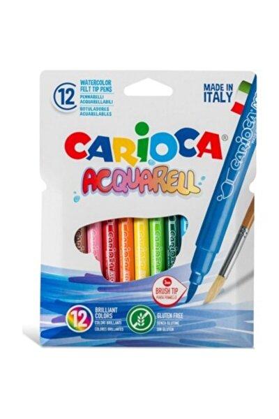 Keçeli Suluboya Kalemi 12 Renk