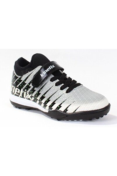 Damon Turf S Gri Siyah Yeşil Erkek Çocuk Halı Saha Ayakkabısı 100374614