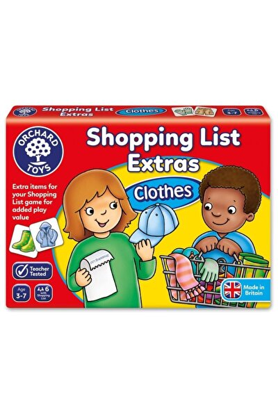Toys Shopping List - Clothes 3+yaş Eğlenceli Oyunlar