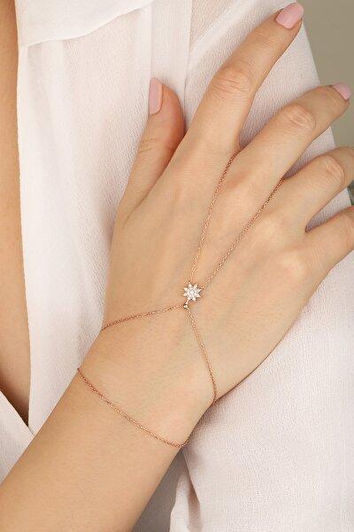 Kadın Rose Yıldız Model 925 Ayar Gümüş Şahmeran