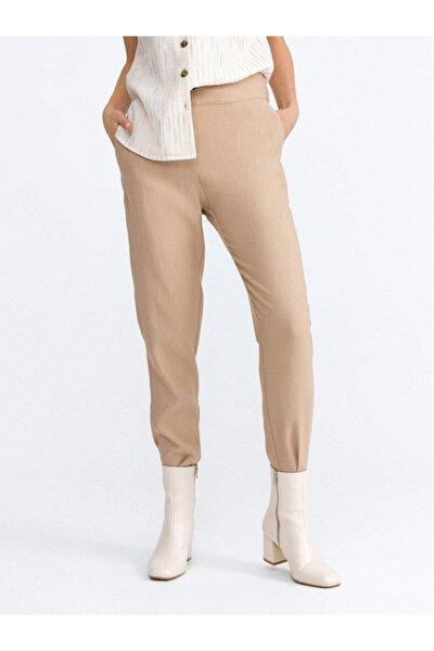 Xınt Düz Renkli Rahat Kesim Pantolon