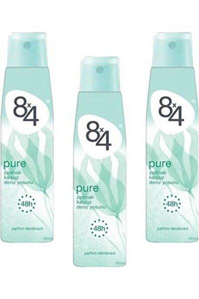 Pure Deodorant 150ml Kadın 3 Adet
