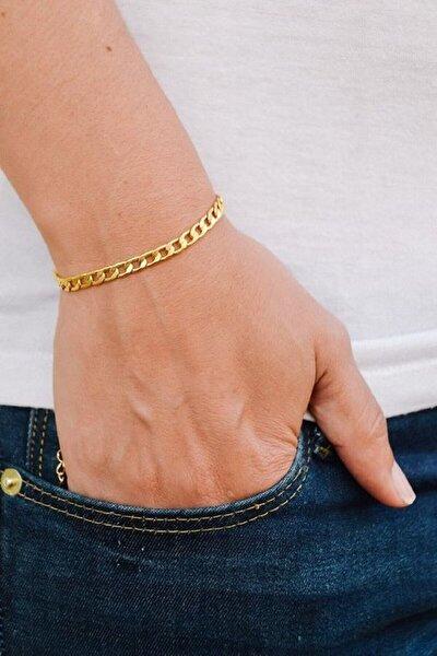 Kararmaz Gold 316 L Çelik Bileklik