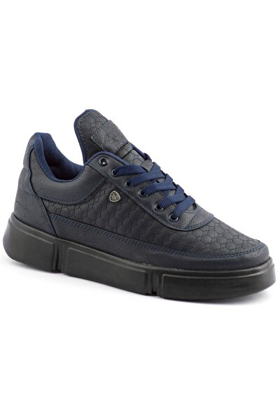 Erkek Lacivert Renk Siyah Taban Spor Ayakkabı 017