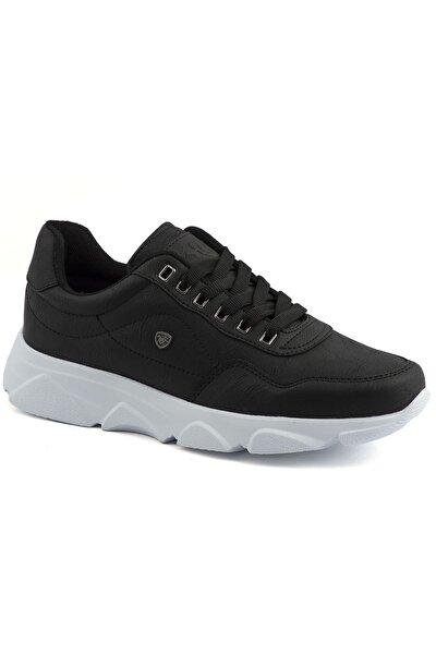 019 Siyah Beyaz Erkek Spor Ayakkabı