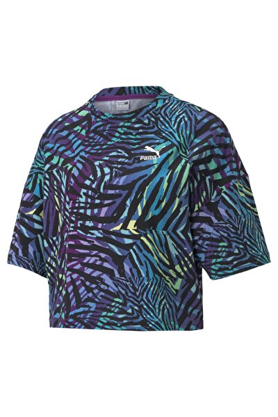 Kadın Tişört Cg Crew Byzantium - Çok Renkli