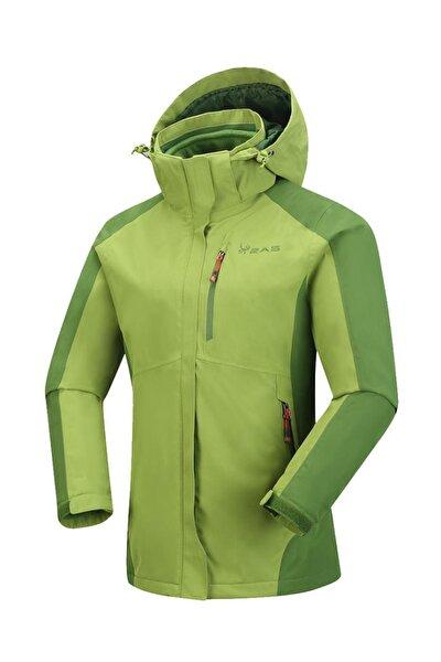 Sparkle Kadın 3in1 Mont Yeşil