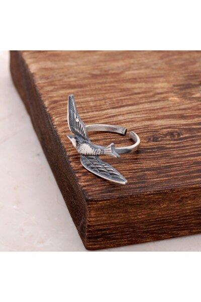 Güvercin Tasarım Elişi Gümüş Yüzük 2632