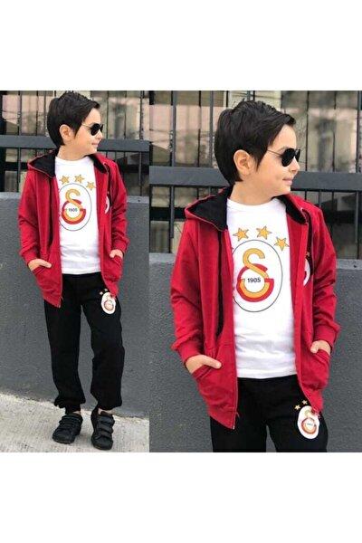 Çocuk Galatasaray Eşofman 3'lü Takım