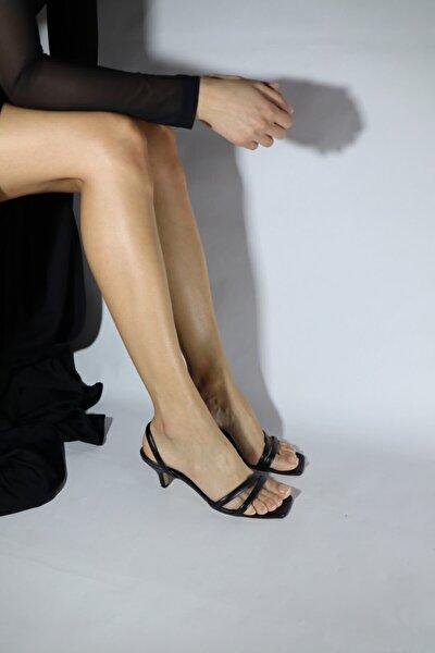 Siyah Sandalet Z-12140