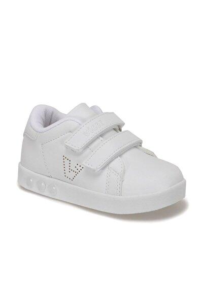 313.E19K.100 Beyaz Kız Çocuk Yürüyüş Ayakkabısı 100578868