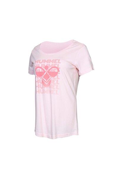 HMLGEGIL T-SHIRT S/S Pembe Kadın T-Shirt 100580711