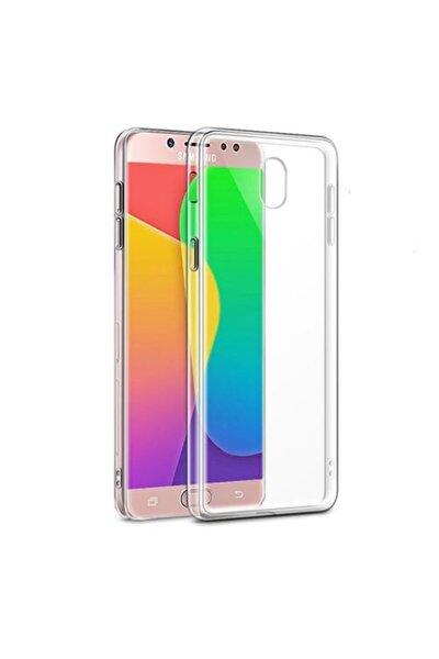 Samsung Galaxy J7 Pro  Uyumlu  (j730) Kılıf Soft Silikon Şeffaf Arka Kapak