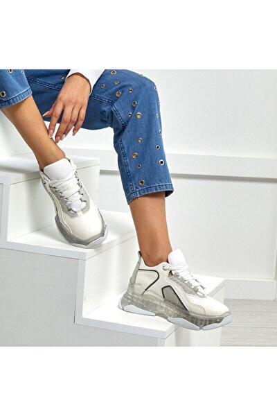 VALESSA Beyaz Kadın Sneaker 100525606