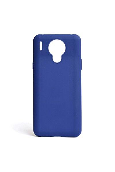 Nihcase P13 Blue Max Lite Kılıf Biye Mat Silikon Mavi