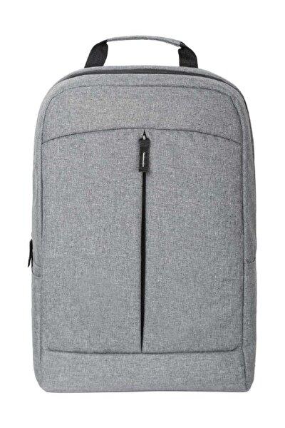 """13""""-15,6"""" Gri Notebook Laptop Bilgisayar Sırt Çantası"""