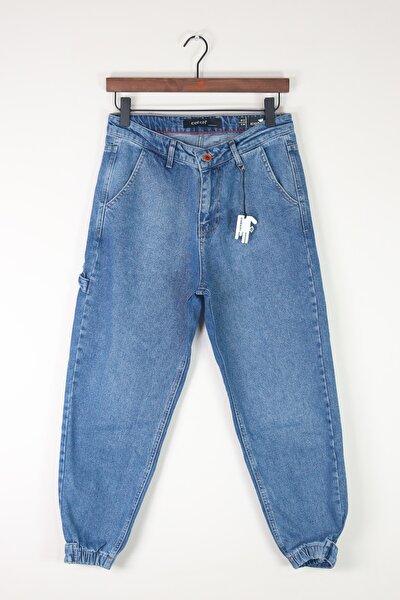 Mavi Bol Kalıp Jean Pantolon 3891-g3
