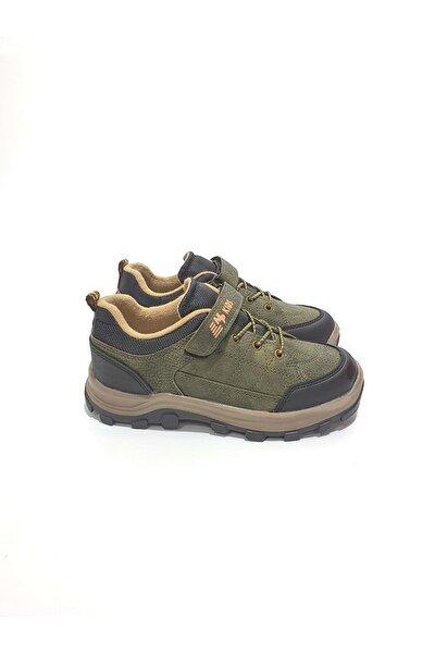 Erkek Çocuk Haki Trekking Ayakkabı