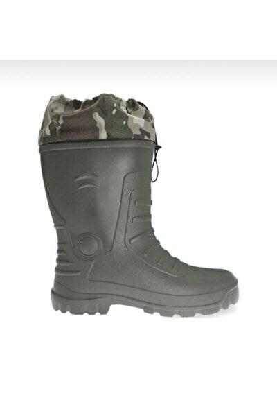 Termal Çoraplı Avcı-balıkçı Çizmesi %100 Su Geçirmez Waterproof Tarla-bahçe