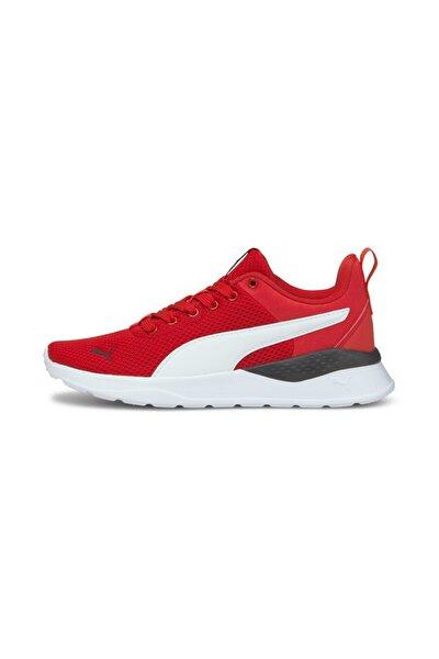 Kadın Anzarun Spor Ayakkabısı - Kırmızı-beyaz