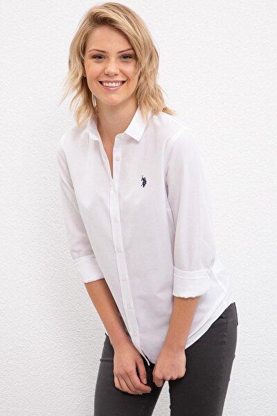 Kadın Beyaz Gömlek G082gl004.000.1177173