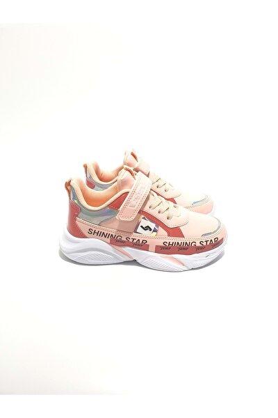 Kız Çocuk Pembe Sneakers Ayakkabı